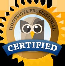 Hootsuite Professional Certified - Pep Sesat
